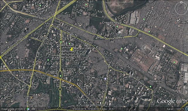 Mahavir Habitat Google Earth