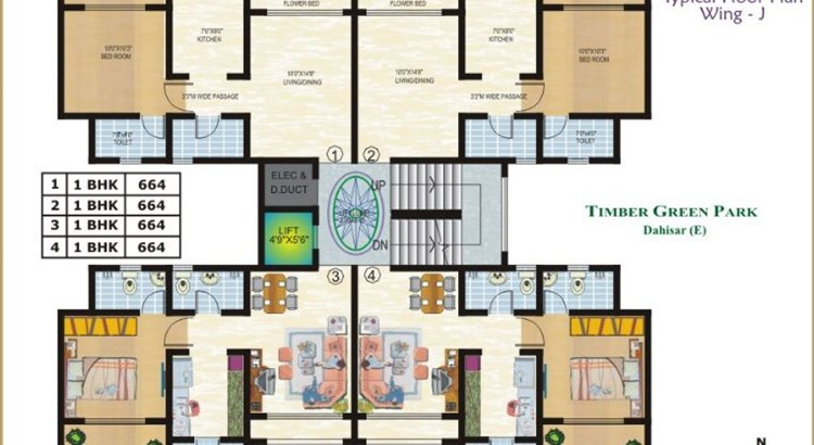 Timber Green Park Floor Plan