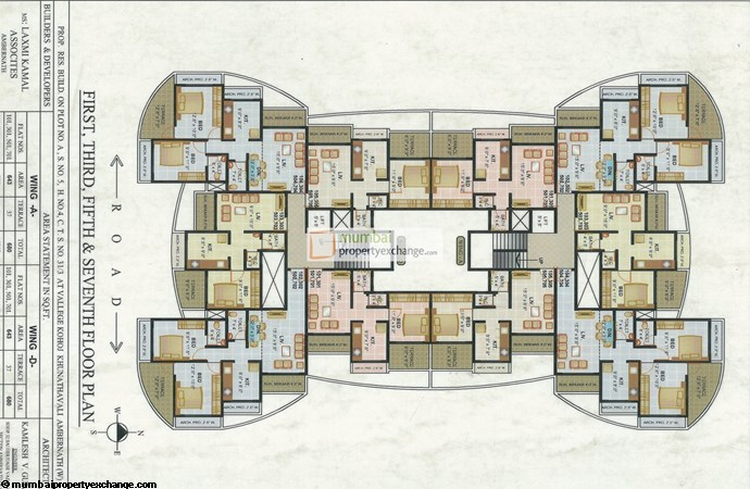 Shankar Heights Floor Plan