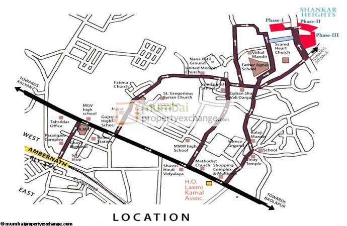 Shankar Heights Location Plan