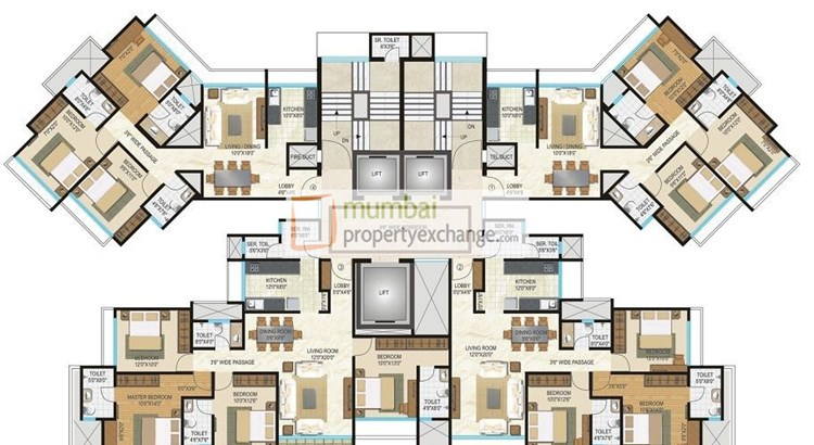 Acme Ozone Basilia Floor Plan
