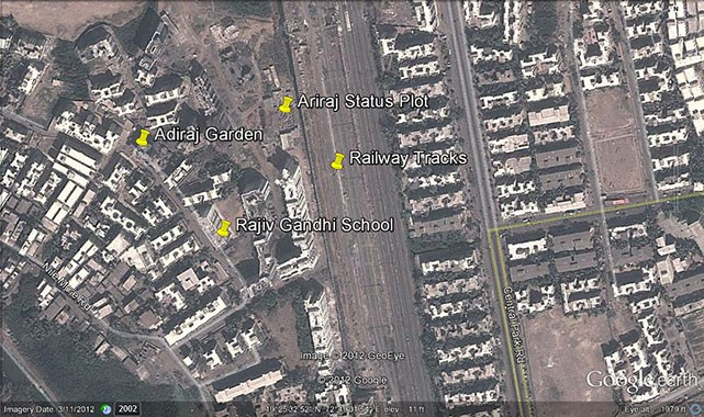 Adhiraj Status Google Earth