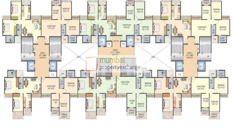 Integreat Radhekrishna Floor Plan