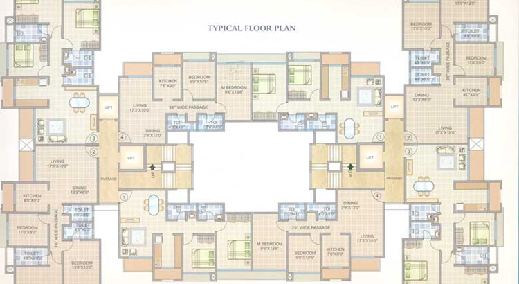 Rameshwar Tower Floor Plan