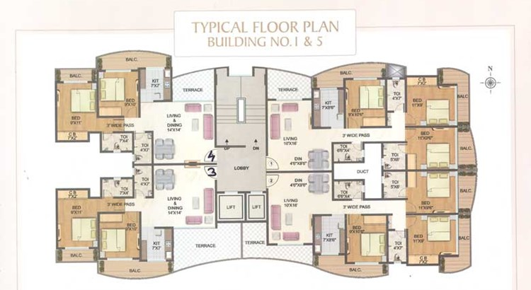 Sundar Heights Floor Plan
