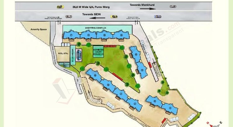Maitri Park Lay out Plan