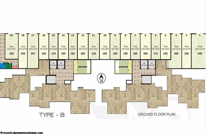 Cosmos Legend Type B Ground Floor Plan