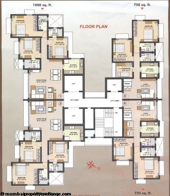 DLH Orchid floor plan
