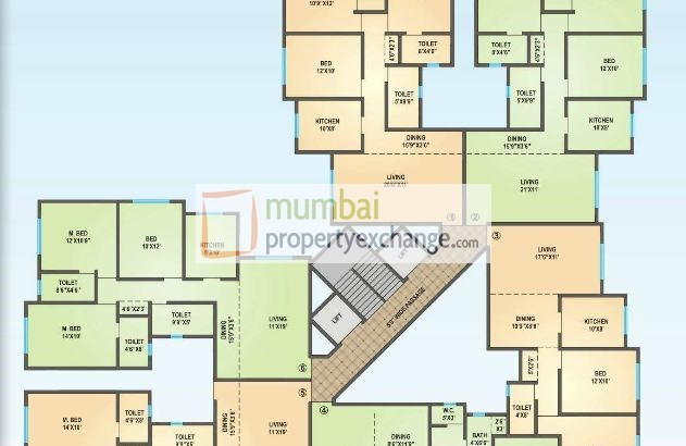 Yashwant Heights Floor Plan