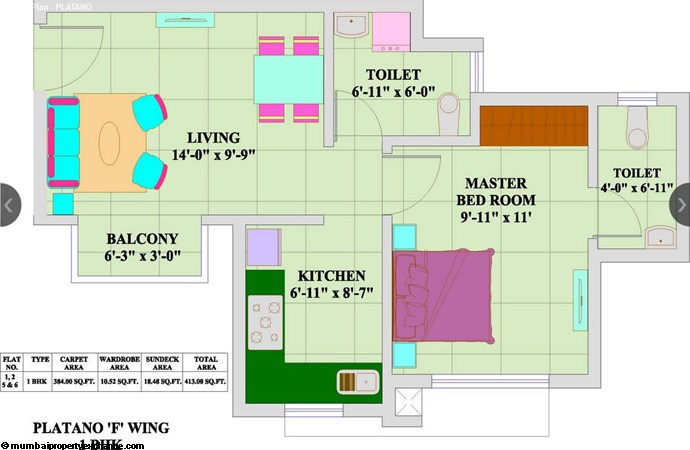 Lifestyle City Platano Floor Plan