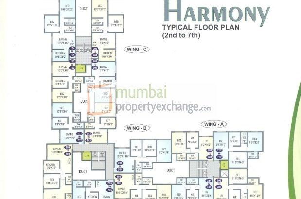 Harmony Floor Plan