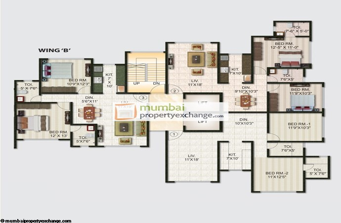 Joy Alka Floor plan