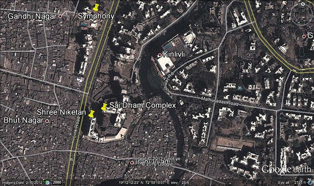 Shree Niketan Google Earth
