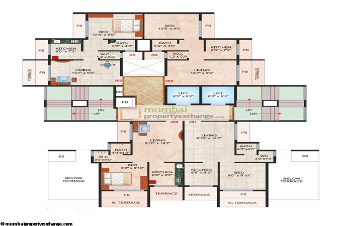 Madhu Sudan Apartment Floor plan 3