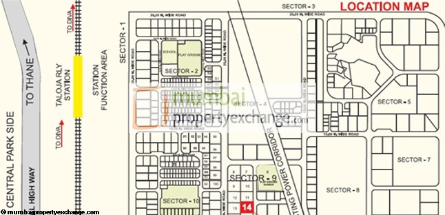 Madhu Sudan Apartment Location plan