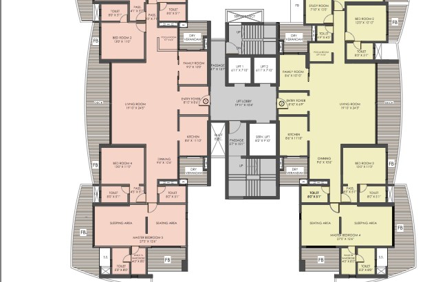 The Nest floor plan