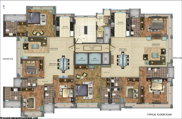 Ariisto Cloud Floor Plan