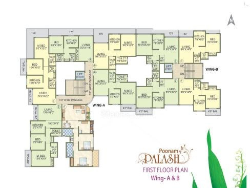 Poonam Palash Floor Plan