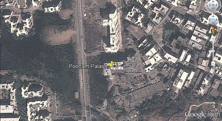 Poonam Palash Google Earth