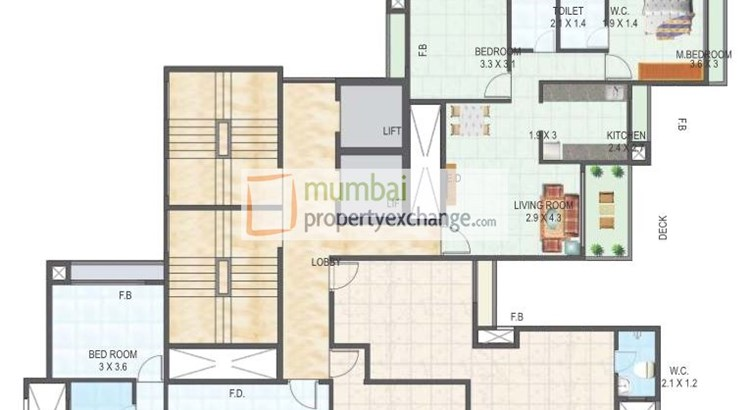 Tricity Skyline Floor Plan