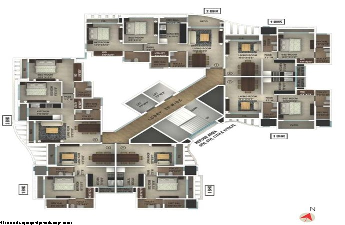 Ruby Yogi Dham  Floor Plan
