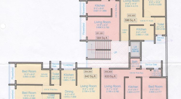 Skyline Gold  Floor Plan