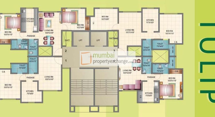 Mahavir Kalpavruksha Floor Plans