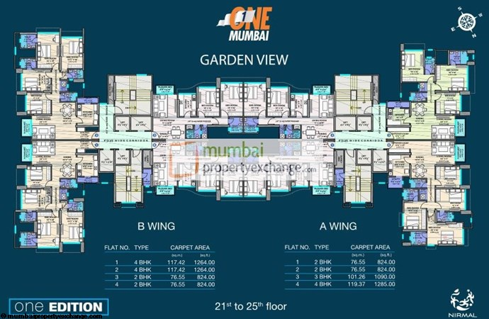 Nirmal One Edition Floor Plan