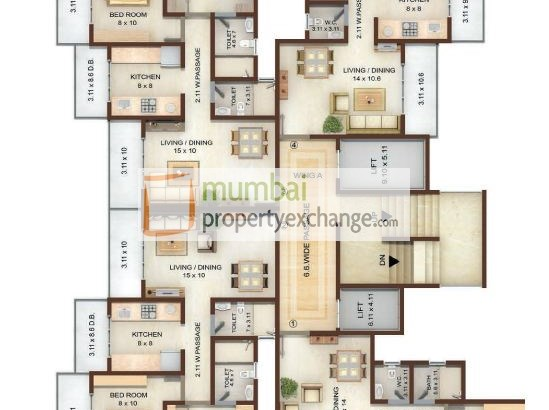Vedic Heights Floor Plan
