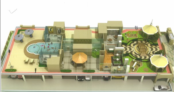 Reza Grandeur 2nd Floor Layout