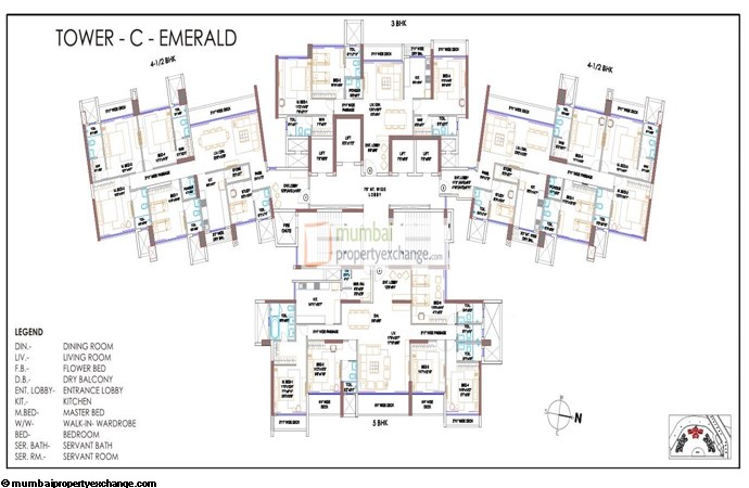Runwal Elegante  Floor Plan