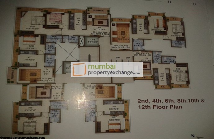 Emerald Tower Floor Plan
