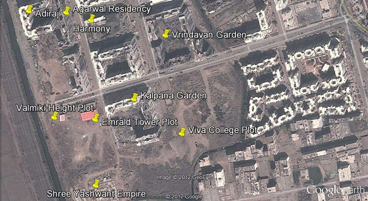 Valmiki Height Google Earth