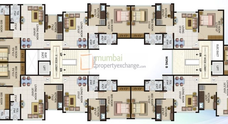 Pankil Apartment Floor Plan