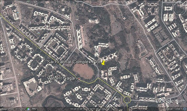 Sai Prabhat Complex Google Earth