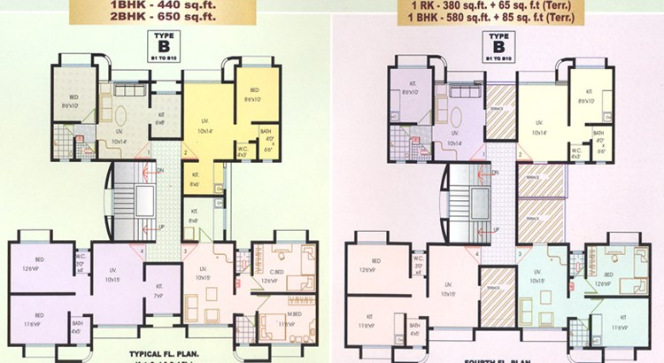 Lok Prabhat Floor Plan