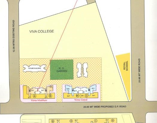 Yadushree Complex Layout