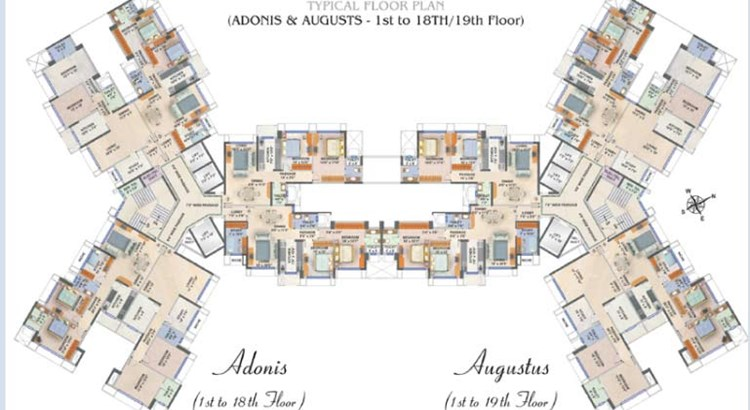 Acropolis Floor Plan Adonis and Augusts
