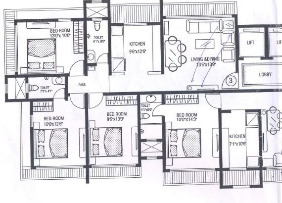 Gokul Anand Floor Plan