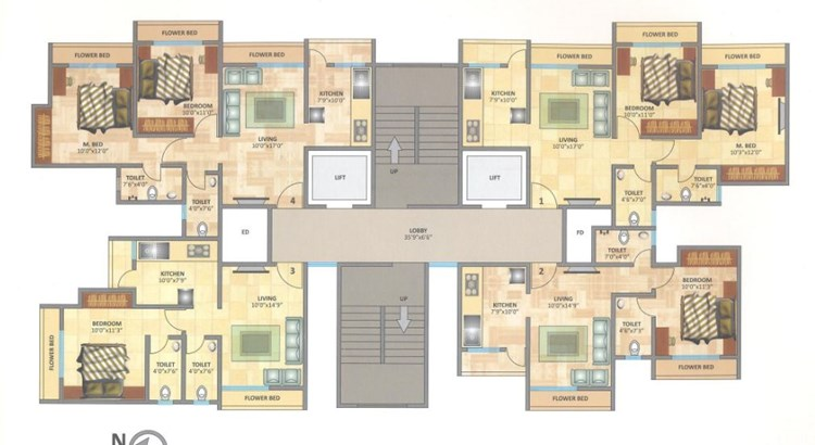 Rosa Elite Floor Plan