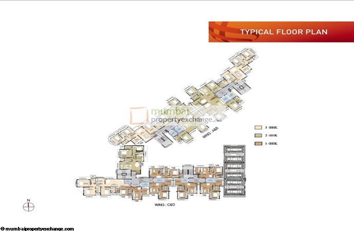 Ruparel Orion Ruparel Orion Typical Floor Plan