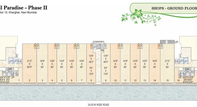 Goodwill Paradise Wing F and G Commercial Plan