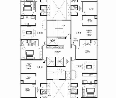 Godrej Platinum Floor Plan