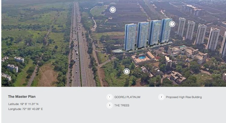 Godrej Platinum Master Plan of Project