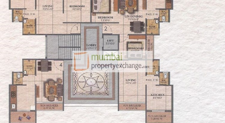 Orchid Square Floor Plan