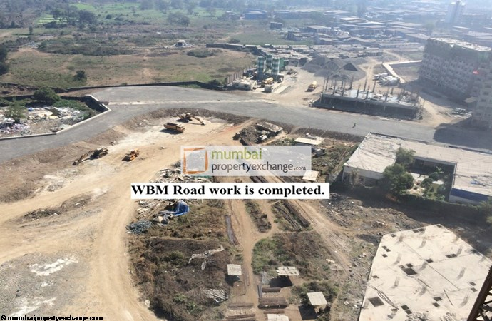 Dosti Planet North Ruby WBM work completed