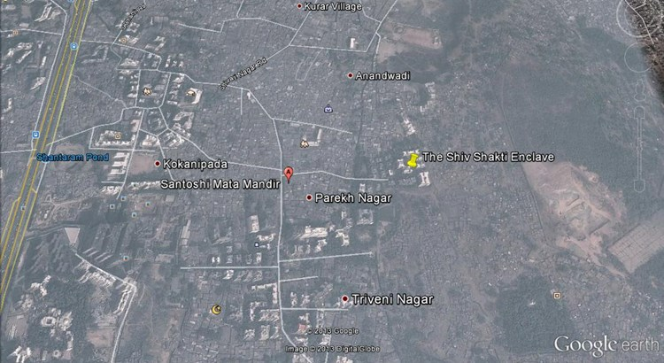The Shiv Shakti Enclave Google Earth