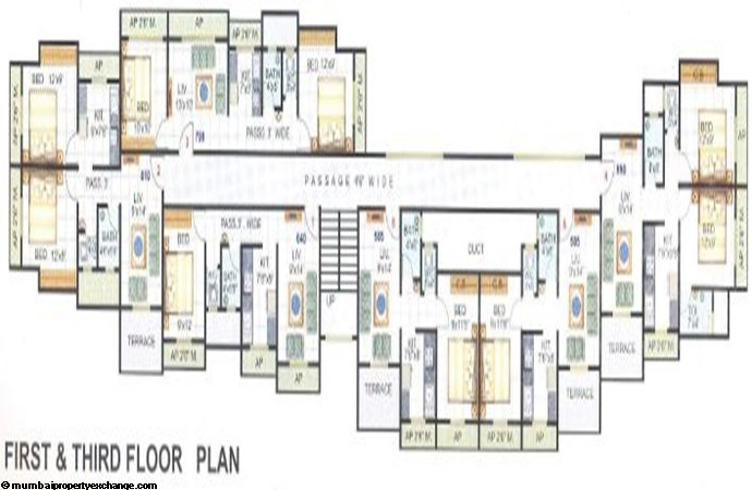 Sudama Enclave First Floor Plan