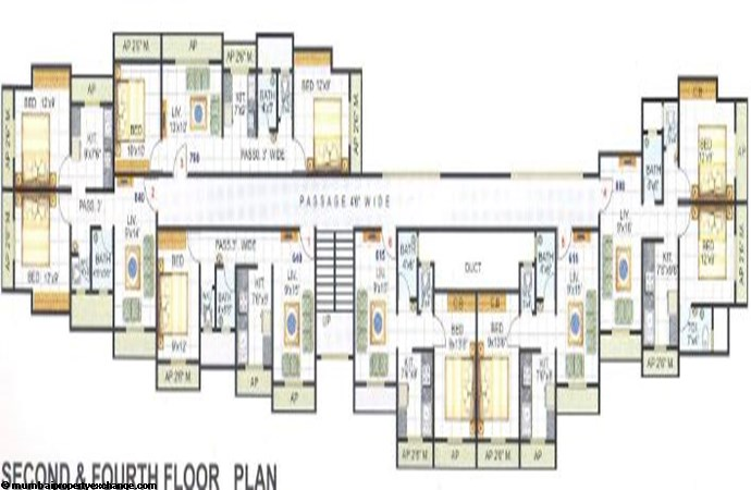 Sudama Enclave Second Floor Plan