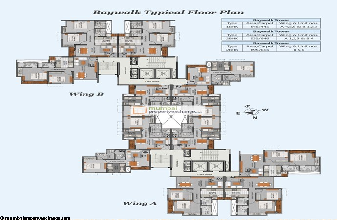 La Promenade Phase II Floor Plan